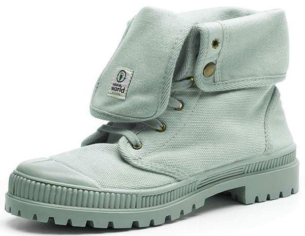 Bota Alta Suela Al Tono - Schuhe aus Bio-Baumwolle - opalo - Bild 1