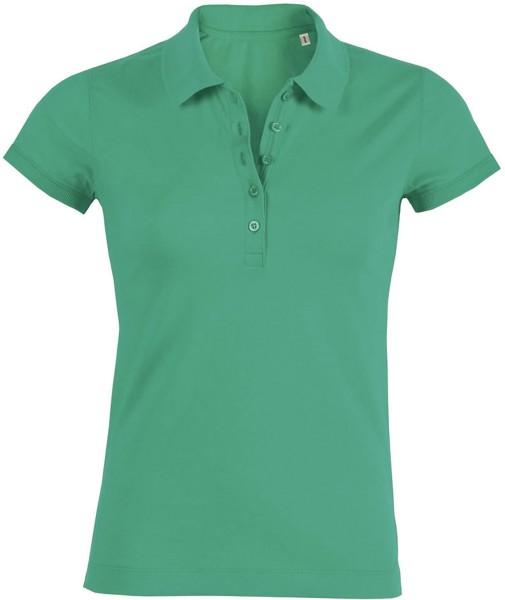 Piqué-Poloshirt aus Bio-Baumwolle - vivid green