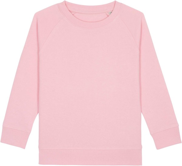 Kinder Sweatshirt aus Bio-Baumwolle - cotton pink