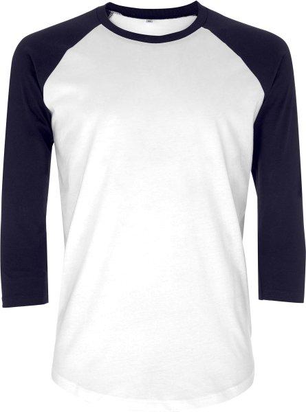 Baseball Shirt Bio-Baumwolle EP22