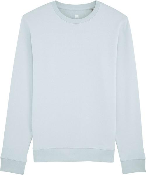 Sweatshirt aus Bio-Baumwolle - baby blue