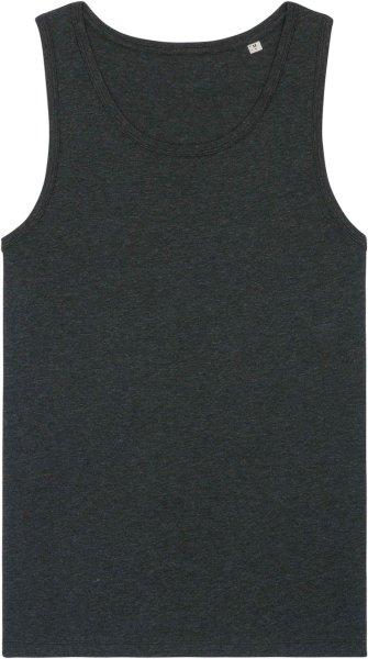 Tank-Top aus Biobaumwolle - dark heather grey