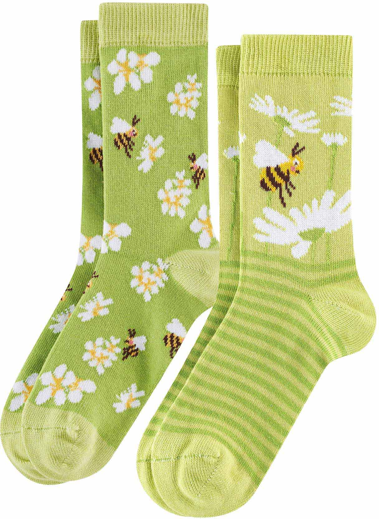 Living Crafts Baby Socken 3er Pack Bio-Baumwolle