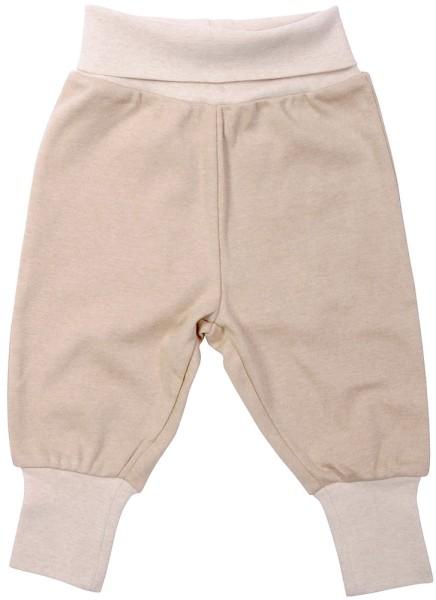 Baby Hose aus Bio-Baumwolle - hazelnut - Bild 1
