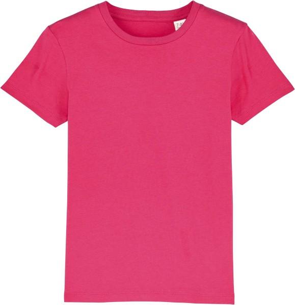 Kinder T-Shirt aus Bio-Baumwolle - raspberry