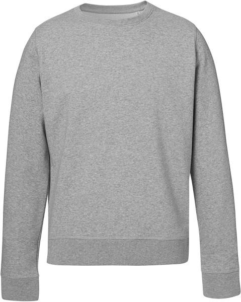 Rise - Sweatshirt aus Bio-Baumwolle - grau meliert