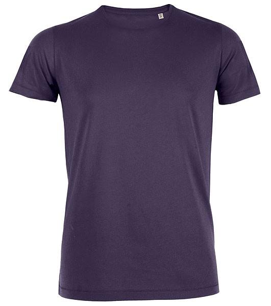 Adores - Leichtes T-Shirt aus Bio-Baumwolle - plum - Bild 1
