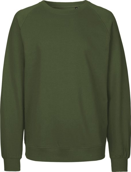 Sweatshirt aus Fairtrade Bio-Baumwolle - military