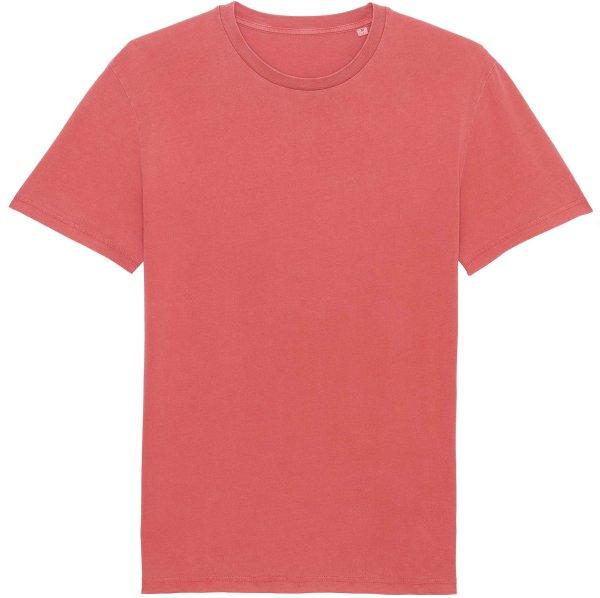 Vintage T-Shirt aus Bio-Baumwolle - g. dyed carmine red