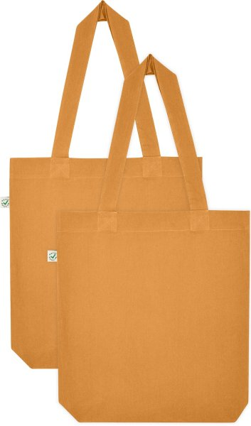 Doppelpack - Organic Cotton Bag - cinnamon