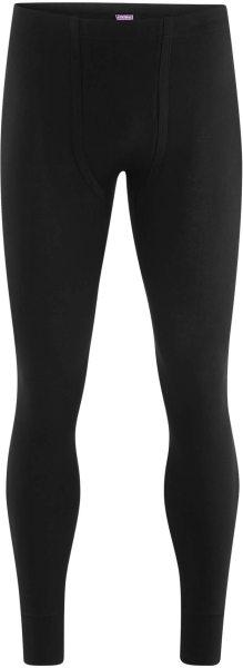 Lange Männerunterhose - Biobaumwolle schwarz