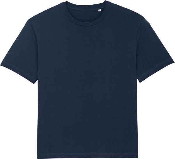 Oversized T-Shirt aus Bio-Baumwolle - french navy