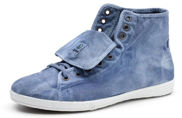 Bota Sport Enzimatico - Sneakers aus Bio-Baumwolle - celeste - Bild 1