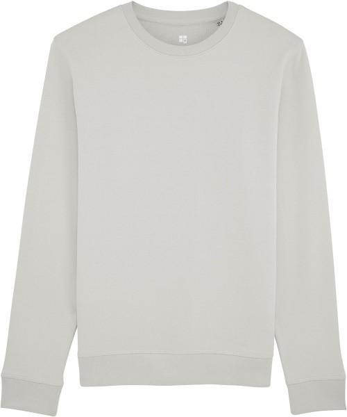 Sweatshirt aus Bio-Baumwolle - light opaline