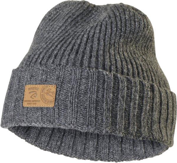 Nix - Mütze mit Umschlag aus Wolle - grey
