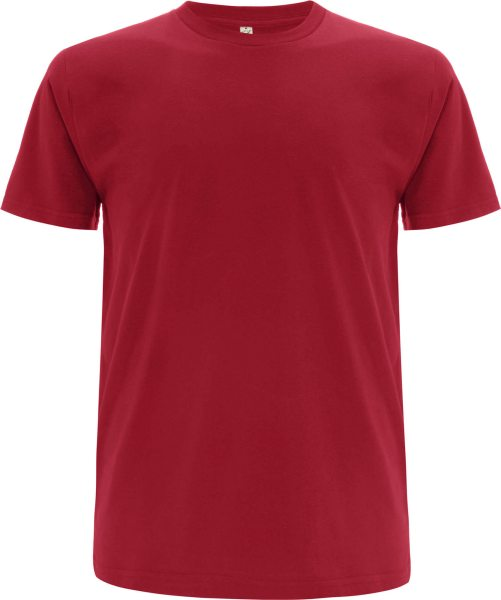Organic T-Shirt CO2-Neutral dunkelrot