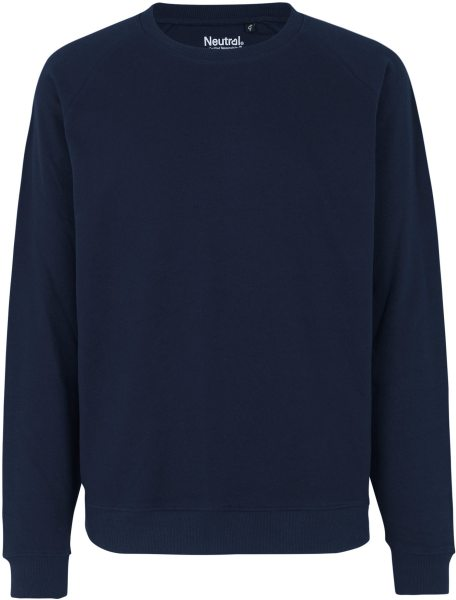 Sweatshirt aus Fairtrade Bio-Baumwolle - navy