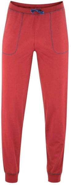 Schlaf-Hose aus Bio-Baumwolle - rosso