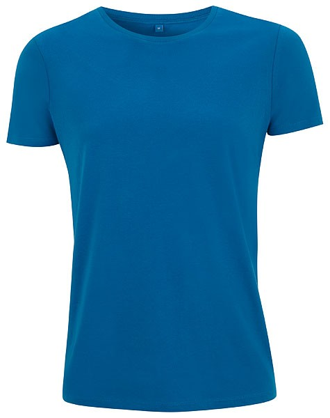 Unisex Slim-Cut T-Shirt island blue - Bild 1