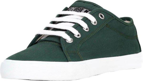 Biobaumwoll-Skater-Sneaker, vegan, low cut grün