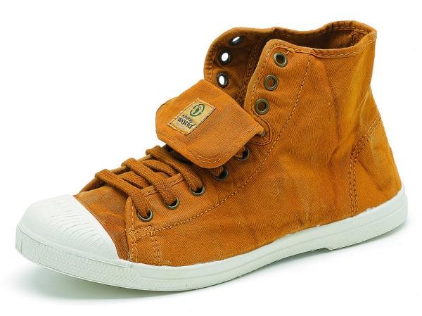 Bota Sport Enzimatico - Hohe Sneakers aus Bio-Baumwolle - cuero - Bild 1