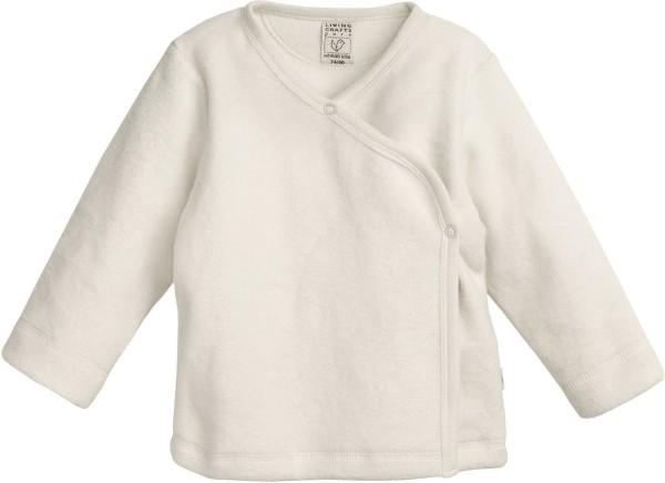 Baby Wickel-Jacke aus Bio-Baumwolle - natur
