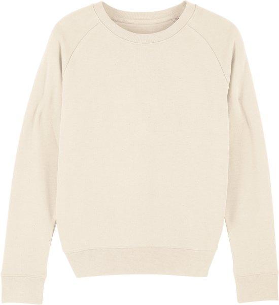 Sweatshirt aus Bio-Baumwolle - natural raw