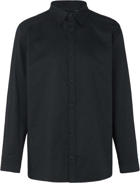 Hemd aus Fairtrade Bio-Baumwolle - black