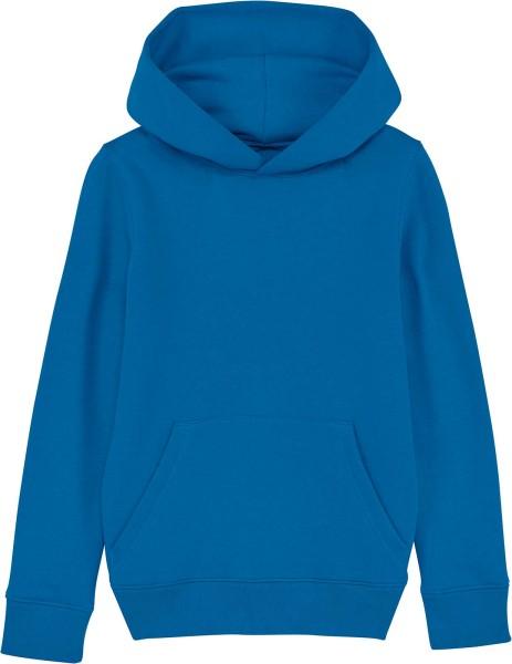 Kinder Hoodie aus Bio-Baumwolle - royal blue