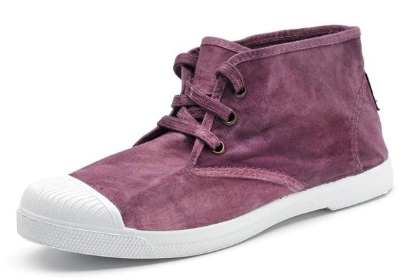 Safari Enzimatico - Hohe Sneakers aus Bio-Baumwolle - violeta - Bild 1