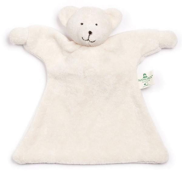Nuckeltier Eisbär Schmusepuppe/Tuch aus Bio-Baumwolle - Bild 1