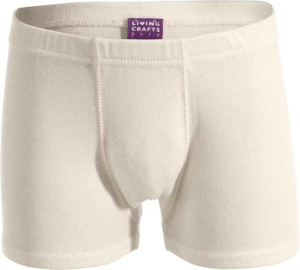Kinder Jungs Shorts aus Bio-Baumwolle - natural