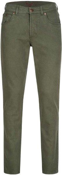 Finn - 5 Pocket Jeans aus Bio-Baumwolle - forest