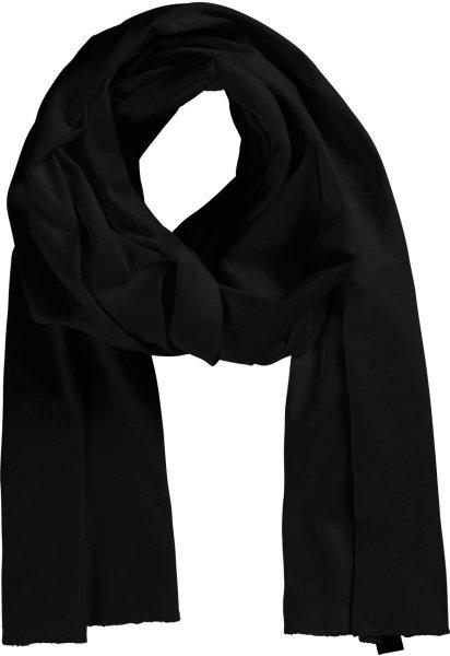 Fairtrade Schal aus Bio-Baumwolle - schwarz - Bild 1