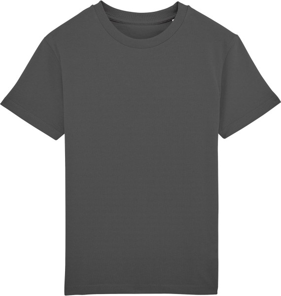Kinder T-Shirt aus Bio-Baumwolle - anthracite
