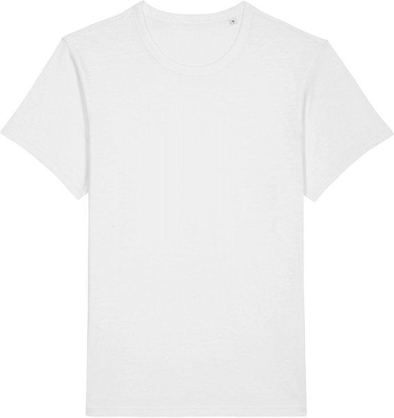 Slub T-Shirt aus Bio-Baumwolle - white