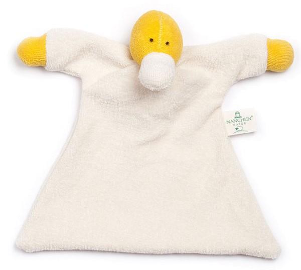 Nuckeltier Ente Schmusepuppe/Tuch aus Bio-Baumwolle - Bild 1