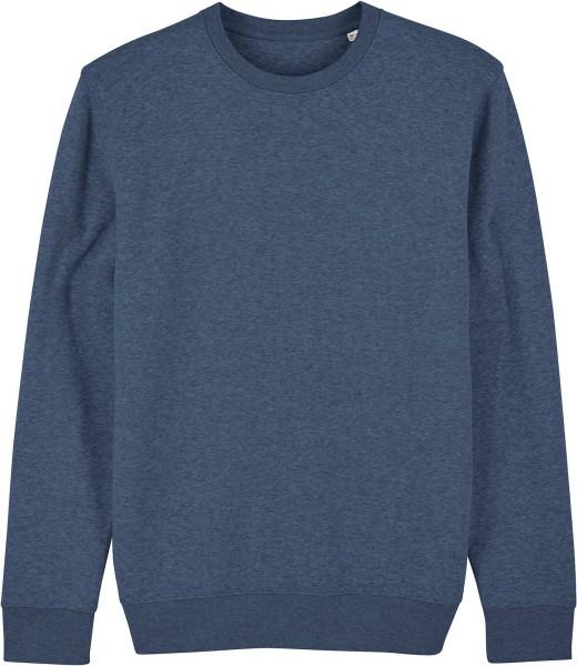 Unisex Sweatshirt aus Bio-Baumwolle - dark heather blue