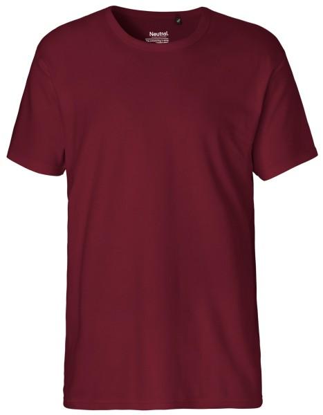 Interlock T-Shirt Herren Bio GOTS - Neutral