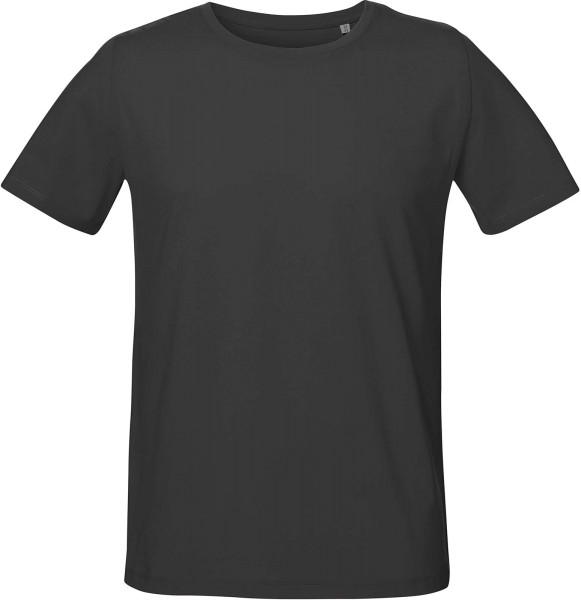 Live - Unisex T-Shirt mit Seitenschlitzen - anthracite