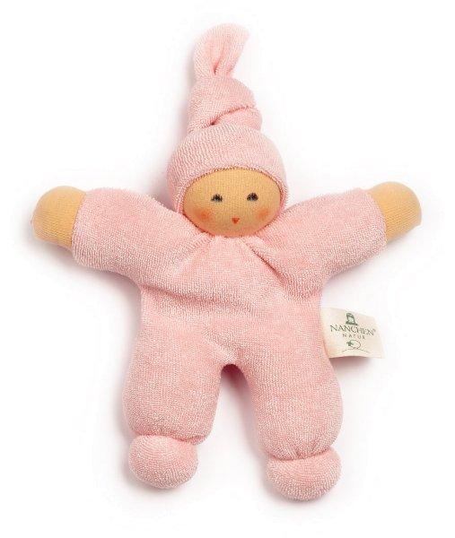 Pimpel Püppchen aus Bio-Baumwolle - rosa - Bild 1