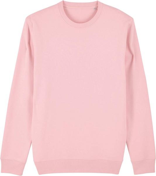 Unisex Sweatshirt aus Bio-Baumwolle - cotton pink