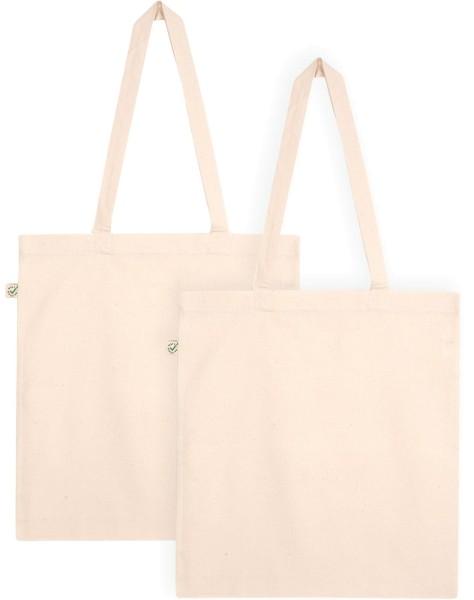 Doppelpack - Organic Cotton Bag - natur