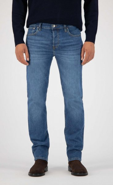 Herren Jeans Regular Fit Bryce MUD authentic indigo