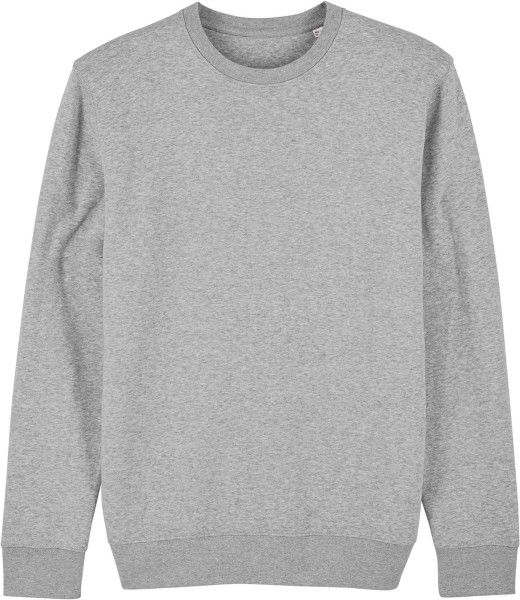 Unisex Sweatshirt aus Bio-Baumwolle - heather grey