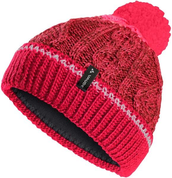 Kinder Mütze Cornua Beanie III - bright pink