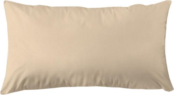 Kissenbezug aus Bio-Baumwolle 80x40 cm - beige