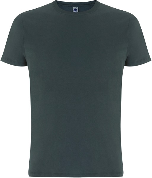 Herren T-Shirt charcoal Fairtrade GOTS bio