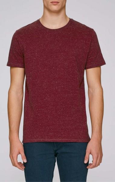 Hips - T-Shirt schwerer Stoff Bio-B. - heather burgundy - Bild 1