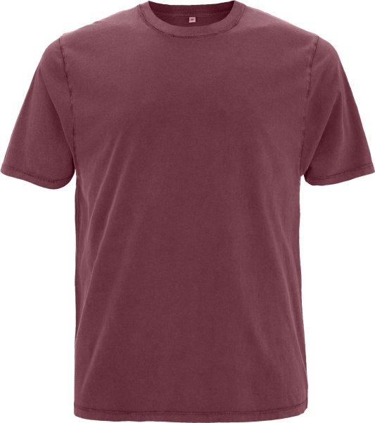 Organic Heavy Oversized T-Shirt - stone burgundy
